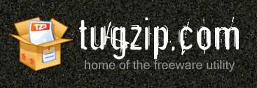 tugzip website screenshot