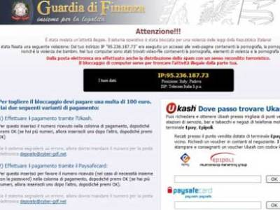 Finta notifica della Guardia di Finanza