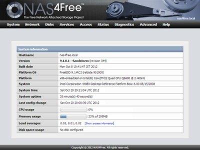 NAS4free e la rinascita di FreeNAS 7