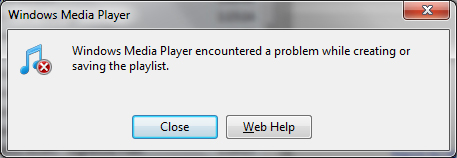 windows-media-player-playlist-error