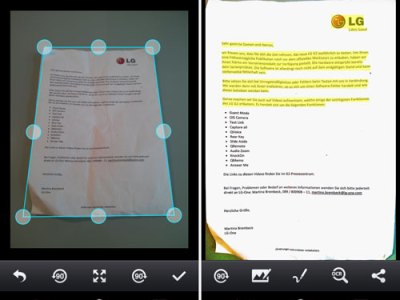 CamScanner trasforma il tuo smartphone in uno scanner.