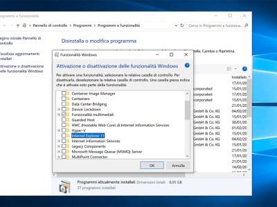 Come rimuovere Internet Explorer 11 da Windows 10