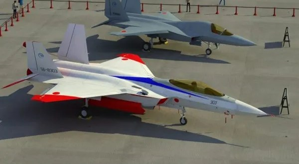 Mitsubishi ATD-X ShinShin a Japanese Stealth Fighter