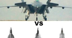 Comparing Chengdu J-20 with F-22, F-35 and Su-PAK FA or T-50