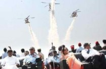 Aero India 2011 sizzles with 50000 viewers on Day 4