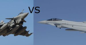 Eurofighter Typhoon vs Dassault Rafale