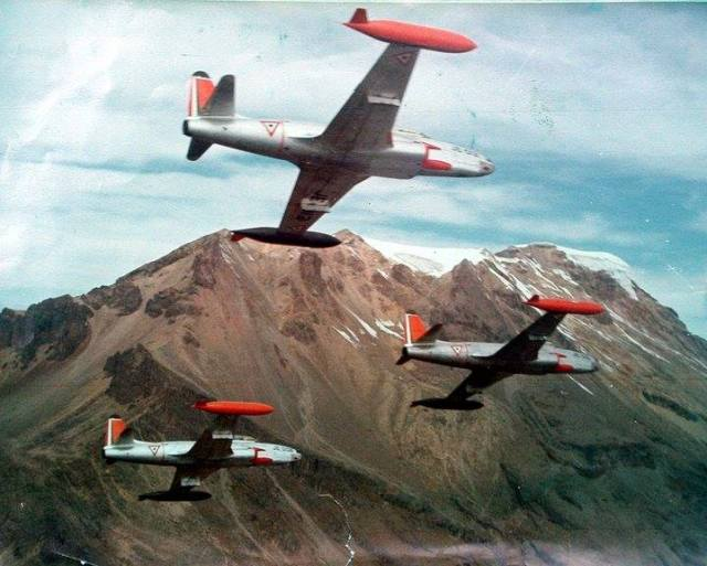 Lockheed AT-33A Shooting Stars_mexican_airforce