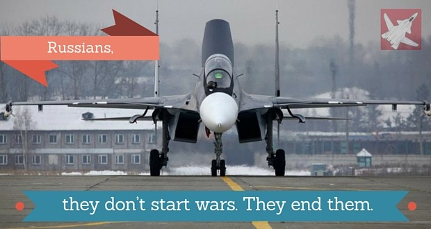 Are you sick & tired of the Islamic State? The Russian Intervention in Syria: A decisive step to end the world's trickiest conflict