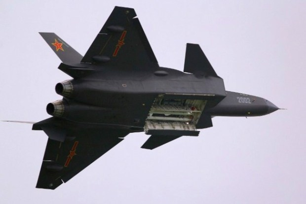Chengdu J-20 Mighty Dragon stealth fighter jet