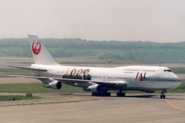 Boeing 747-100 Japan Airlines