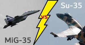 MiG-35 vs Su-35