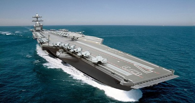 U.S. Navy christens USS John F. Kennedy (CVN 79) Aircraft Carrier