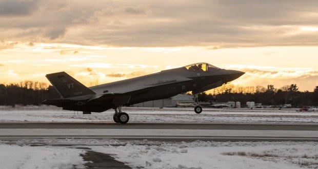 Vermont Air National Guard receives next three F-35 Lightning II aircraft