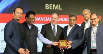 BEML receives top mining equipment seller award 32
