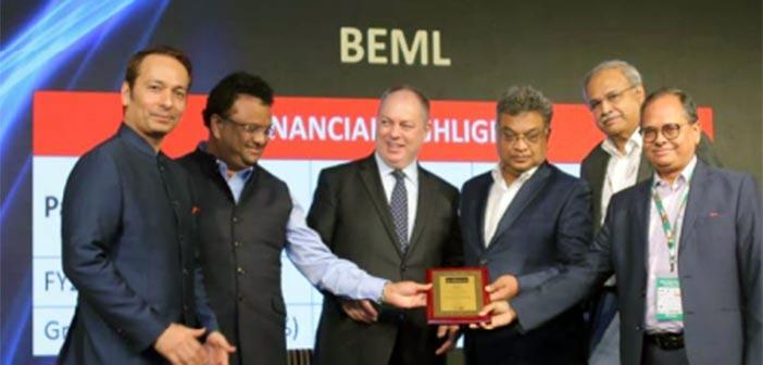 BEML receives top mining equipment seller award 15