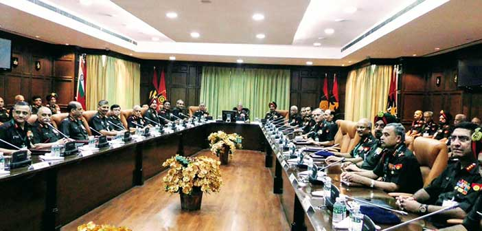 Indian army discusses rightsizing and restructuring issues 1