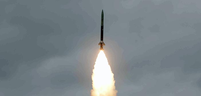 India test fires surface-to-surface ballistic missile Prahar 12