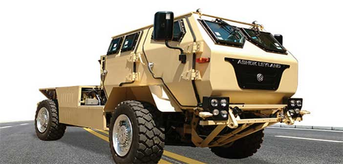 Ashok Leyland wins contract for tracked vehicles of Indian Army 2