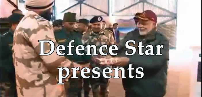 Prime Minister Modi celebrates Deepawali with Army Jawans 9
