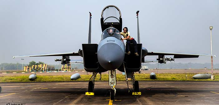 Indian Air Force, USAF begin joint military exercise Cope India 2018 2