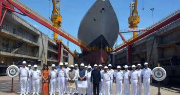 Indian Navy INS Nilgiri