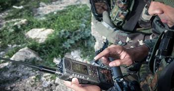 Photo: Elbit Systems E-Lynx Software Defined Radio