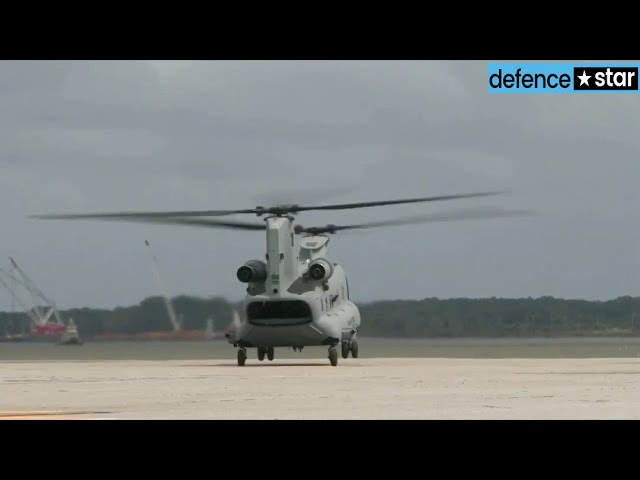 Indian Air Force inducts Boeing Chinook multi-mission helicopter 4