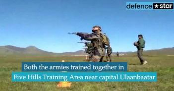 India, Mongolia conduct Nomadic Elephant-2018 military exercise 1