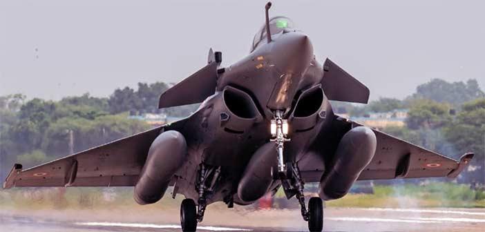 Photo: IAF Rafale Ambala Airbase