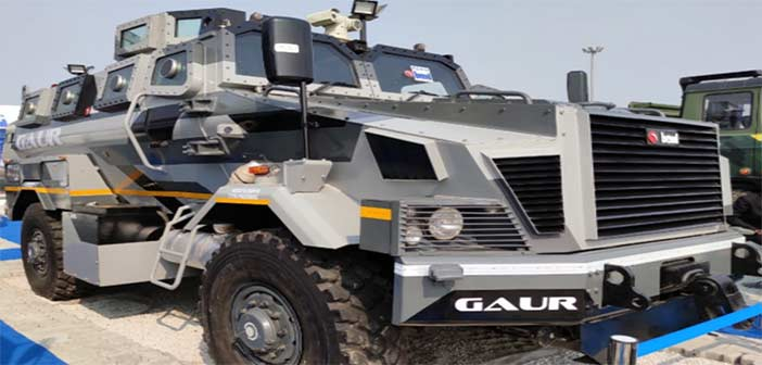 BEML Bullet Proof Vehicle Gaur