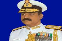 Photo: Vice Admiral MA Hampiholi