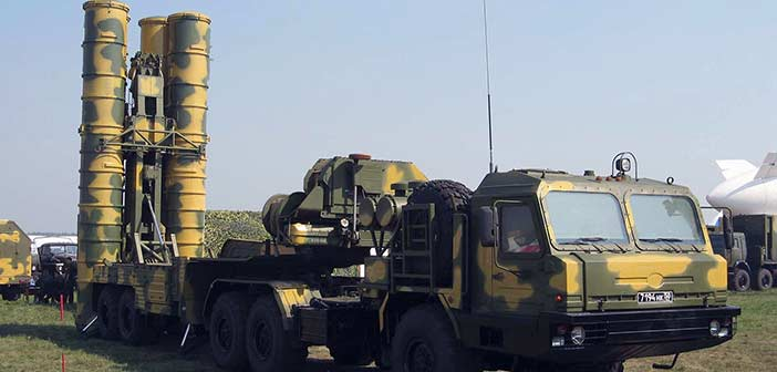 India S-400 missile.