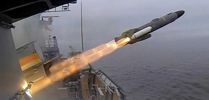 Photo: Diehl Defence German Navy RBS15 Missile