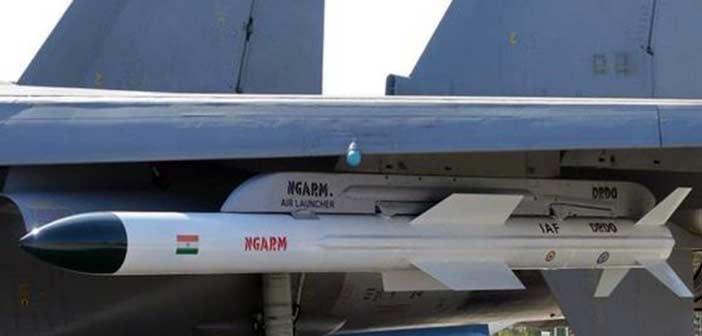 India DRDO Rudram Missile