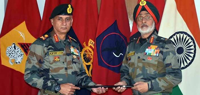 Indian Army Lt Gen PGK Menon, Harinder Singh