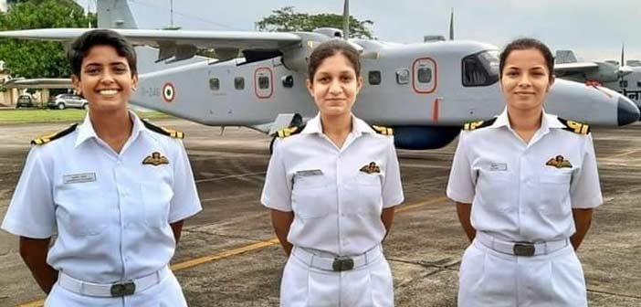 Women pilots take wing.