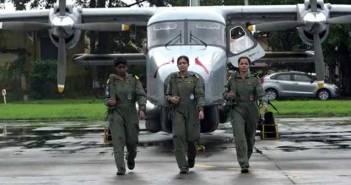 Indian Navy Women Pilot