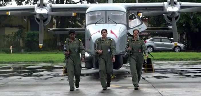 Indian Navy Women Pilot