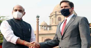Rajnath Singh Mark T Esper India US 2+2