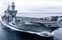 fincantieri cavour class aircraft carrier