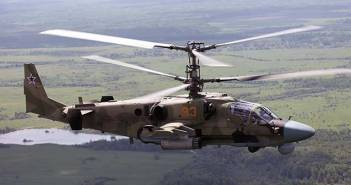 Russia Defence Export Kamov 52 Helicopter