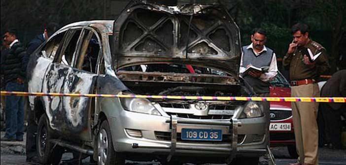 israel embassy vehicle bomb attack