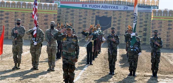India US Yudh Abhyas Exercise