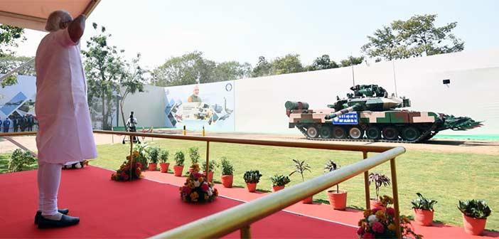 Indian Army Arjun Tank