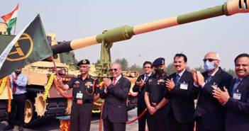 Indian Army L&T Hanwha K9 Vajra Gun