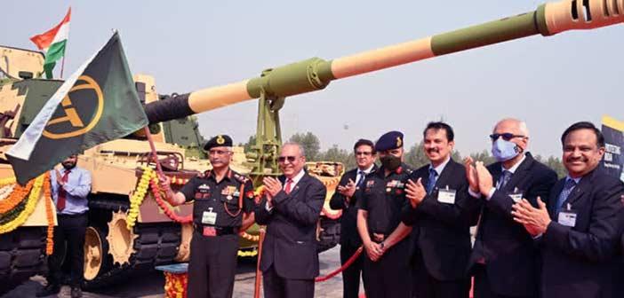 Indian Army L&T Hanwha K9 Vajra Gun
