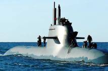 Italian Navy U212 Class Submarine