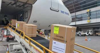 IAI India Covid Relief Material Oxygen Concentrators.