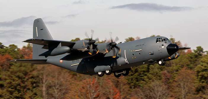 C-130 J Transport Aircraft