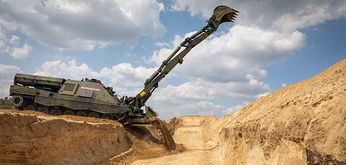 Rheinmetall kodiak combat vehicle